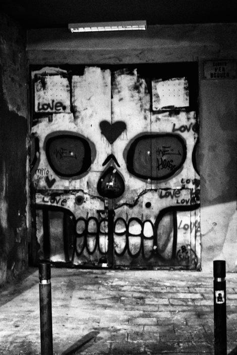 2014 Spain, Barcelona, Dead Love, Sugar Skull, Street