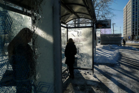 Bus Stop, Tallinn, Estonia 2019